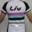 ชุดปั่นจักรยานผู้หญิง LIV White เสื้อปั่นจักรยาน พร้อมกางเกงปั่นจักรยาน thumbnail 4