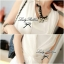 DR-LR-040 Lady Miki Pleats Please Chiffon Dress (สีขาว) thumbnail 7