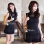 DR-LR-081 Victoria Secret Autumn Black&White Secret Mini Dress thumbnail 4