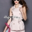 DS-PP-026 Lady Stella Vintage Glam Sleeveless Trench Set thumbnail 6