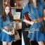 DR-LR-025 Lady Ribbon's Made Lady Mara Chic Denim Dress thumbnail 9