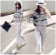 Lady Leslie Lace Embroidered Jersey and grey Culottes Set L266-79C03 thumbnail 3