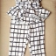 Lady Black&White Checkmate Trousers Set L134-69C01 thumbnail 5