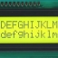 LCD 1602 16x2 Yellow Green with backlight of the thumbnail 1