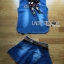 Moschino Country Girl Denim Set with Printed Pleated Scarf L258-8901 thumbnail 17