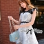 DR-LR-079 Lady Elizabeth Haute Glamour Wild Rose Dress thumbnail 3