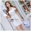 DR-LR-071 Lady Charlotte Gorgeous Little White Lace Dress thumbnail 9