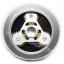 HF246 Hand spinner - GYRO (ไจโร) -Fingertip Gyroscope โลหะ ฟันเฟือง 3 แฉก thumbnail 2