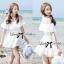 DR-LR-069 Lady Lara Sweet Casual Cotton Lace Mini Dress thumbnail 1
