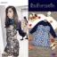 เซต 2 ชิ้น Brand : LBT เสื้อเชิ้ตซีทรูผ้าชีฟอง แขนยาว thumbnail 5