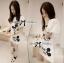 Lady Mickey Playful Casual White Dress L163-65C09 thumbnail 4