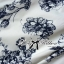 DR-LR-277 Lady Sweet Pearl Collar Blue Floral Blooming Chinoise Dress thumbnail 12