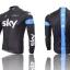 ชุดปั่นจักรยาน แขนยาว ทีม Sky ขนาด S พร้อมส่งทันที รวม EMS thumbnail 2