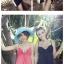 SM-V1-133 ชุดว่ายน้ำแฟชั่น คนอ้วน เด็ก ดารา thumbnail 5