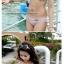 SM-V1-243 ชุดว่ายน้ำแฟชั่น คนอ้วน เด็ก ดารา thumbnail 4