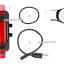 ไฟหลัง LED 5 ดวง ชาร์ตไฟผ่าน USB thumbnail 2