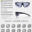 แว่นตาปั่นจักรยาน ESS Polarized UV400 แว่นตาสำหรับกีฬากลางแจ้ง ทรงสปอร์ต มีคลิปสายตา เปลี่ยนเลนส์ได้ thumbnail 4