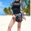 SM-V1-667 ชุดว่ายน้ำแขนยาว โทนสีดำ ลายสวย Love_XOXO thumbnail 7