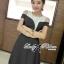 DR-LR-150 Lady Isabella Glamourous Chic Bold Dress thumbnail 5