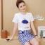 Set cartoon T-shirt embroidered skirt cute by Aris Code thumbnail 7