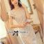 DR-LR-135 Lady Julie Haute Glam Embellished Brocade Dress thumbnail 7