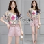 Lady Leslie Playful Chic Painting Printed Top and Shorts Set L263-6915 thumbnail 4