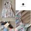 DR-LR-173 Lady Flora Vintage See-through Mini dress thumbnail 15
