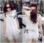 Lady Blaire Pretty Sweet Floral White Lace Ensemble Set L165-79B11 thumbnail 1