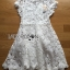 Lady Gabriela Crystal Embellished Flower White Lace Dress L263-8909 thumbnail 16