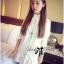DR-LR-207 Lady Eva Basic Minimal Chic Flared Shirt Dress in White thumbnail 6