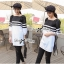 Lady Pippa Minimal Casual Striped Dress thumbnail 10