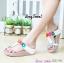 รองเท้าพื้นยางสไตล์ ฟิทฟลอบ คาดดอกไม้ thumbnail 2