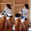 DR-LR-093 Lady Eve Smart Minimal Chic Mini Dress thumbnail 2