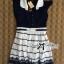 DR-LR-209 Lady Claire Mixed Print Sleeveless Insert Chiffon Shirt Dress thumbnail 16