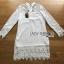 Lady Jane Classic Feminine Combined Lace Shirt Dress thumbnail 4