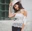 Self-Portrait Off-Shoulder White Lace Corset L263-6914 thumbnail 5