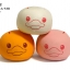 CA405 SAMMY Rabbit Orange Squishy (SOFT) 6.5 cm ลิขสิทธิ์แท้ thumbnail 3