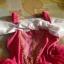 เดรสเจ้าหญิงนิทรา สีชมพูสวย การตัดเย็บดีค่ะ ไซส์ 110,120,130 thumbnail 4