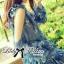 DR-LR-263 Lady Amanda Summer Floral Cut-Out Chiffon Dress thumbnail 7