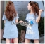 Lady Julie Sporty Style Printed and Sequin Denim Dress L254-75C01 thumbnail 6