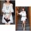 DR-LR-098 Temperley London Giovanna Embellished White Tunic Dress thumbnail 10