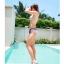 SM-V1-296 ชุดว่ายน้ำแฟชั่น คนอ้วน เด็ก ดารา thumbnail 9