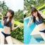 SM-V1-190 ชุดว่ายน้ำแฟชั่น คนอ้วน เด็ก ดารา thumbnail 3
