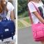 กระเป๋าเป้สไตล์เกาหลี &#x266B ้เป็นเป้ผ้าแคนวาส thumbnail 1