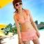 SM-V1-182 ชุดว่ายน้ำแฟชั่น คนอ้วน เด็ก ดารา thumbnail 1