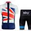 ชุดปั่นจักรยาน Sky ขนาด XL พร้อมส่งทันที ฟรี EMS thumbnail 2