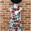 Dress กุหลาบแดงคอตั้ง thumbnail 7