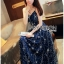 Lady Leslie Super Stars Sequin Embroidered Tulle Maxi Dress L245-89C01 thumbnail 8