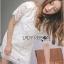 Lady Amanda Classic White Bold Lace Dress L194-69B06 thumbnail 10