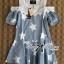 Lady Alexandra Minimal Chic Polka Dot Mini Dress =690.- บาท เดรสสั้น มินิเดรส เดรสน่ารัก ชุดเดรสสวยๆ แฟชั่นเกาหลีพร้อมส่ง เดรสสั้นเสื้อแขนยาวแบบเรียบๆกับกระโปรง Layer ลายจุด ตัวนี้เป็นลุคแบบเรียบๆในสไตล์ minimal แบบสาวเกาหลี เหมาะกับสาวที่ไม่ชอบแต่งตัวเยอ thumbnail 11